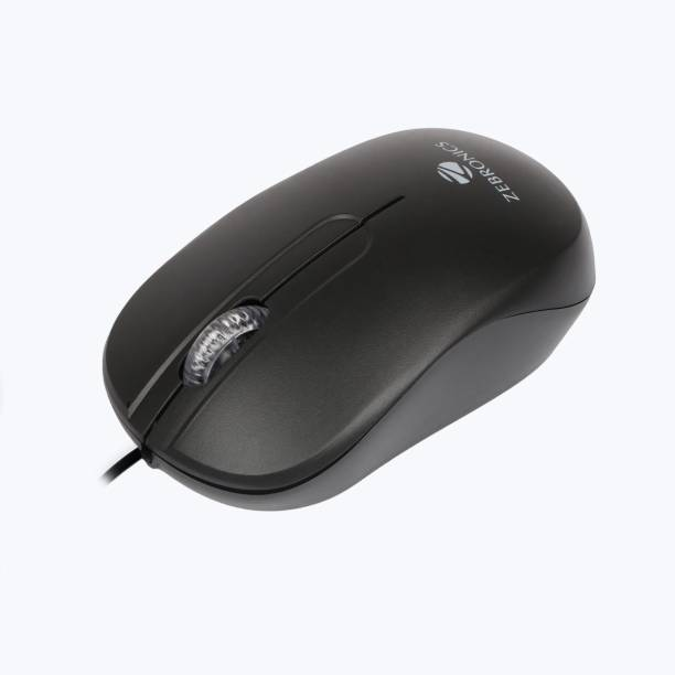 ZEBRONICS Zeb Sprint Wired Optical Mouse