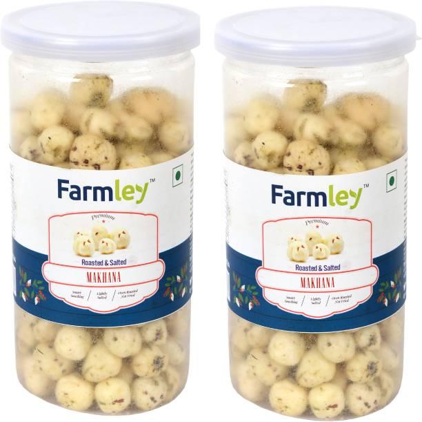 Farmley Roasted & Salted Makhana 180g Pack for 2 (90g Each)