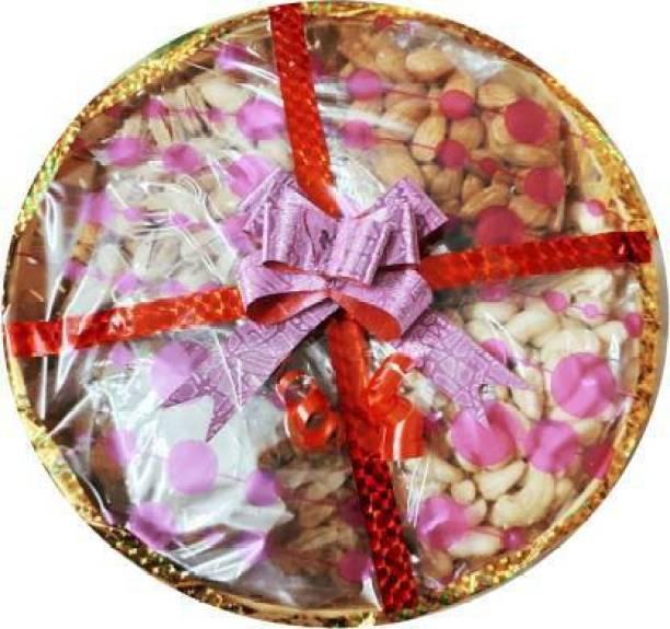 DOBARIYA 100% Natural Premium Quality Special Designer Dry Fruits Gift Hamper Combo 4*250g Cashew ,Almond ,Rasins , Pistachios (1 kg) Almonds, Cashews, Pistachios, Raisins