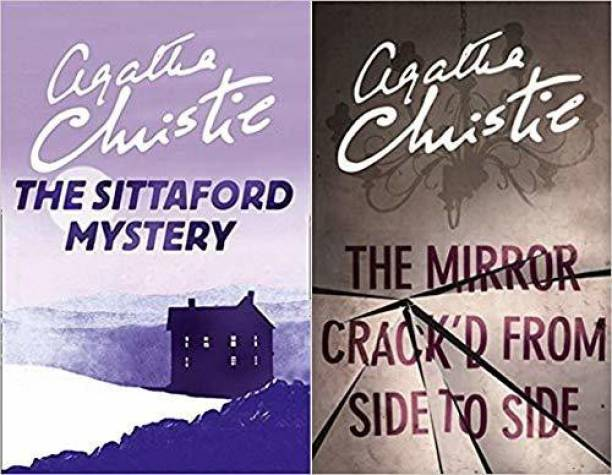 Set Of 2 Books By Agatha Christie (The Sittaford Mystery & The Mirror Crack'd From Side To Side (Miss Marple)) [Paperback] Agatha Christie