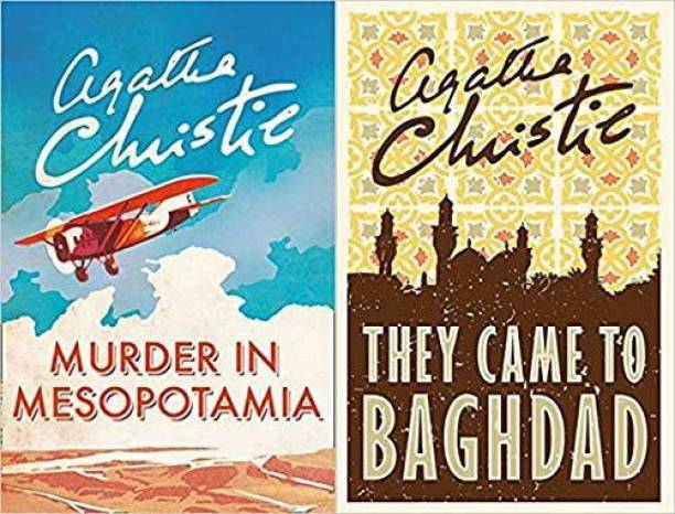 Set Of 2 Books By Agatha Christie (Murder In Mesopotamia (Poirot) & They Came To Baghdad) [Paperback] Agatha Christie