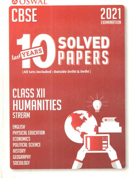 Oswal Cbse Last 10 Years Solved Papers ( Class - Xii ) Humanities Stream