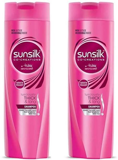SUNSILK Keratin yogurt lusciously thick & long shampoo
