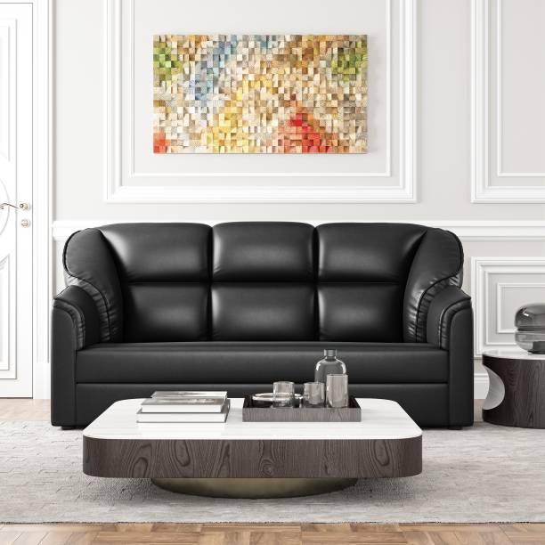 WESTIDO Mac Leatherette 3 Seater  Sofa