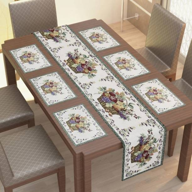 Upvolution Grey Organic Cotton Table Linen Set