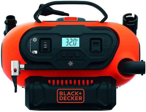 BLACK+DECKER 160 psi Tyre Air Pump for Car & Bike