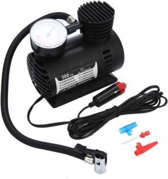 king and queen store 300 psi Tyre Air Pump for Car & Bike