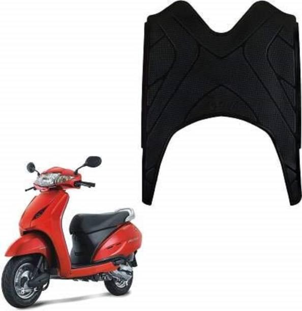 Gadget Deals High Quality Foot mat Scooty Mat Black Honda Activa 6G Two Wheeler Mat