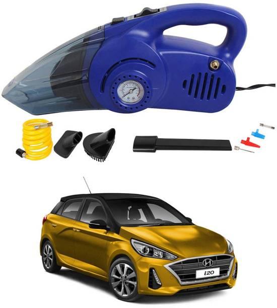 Oshotto 100W 2 in 1 Vacuum Cleaner cum Tyre Inflator for Hyundai i20 2020 Car Vacuum Cleaner