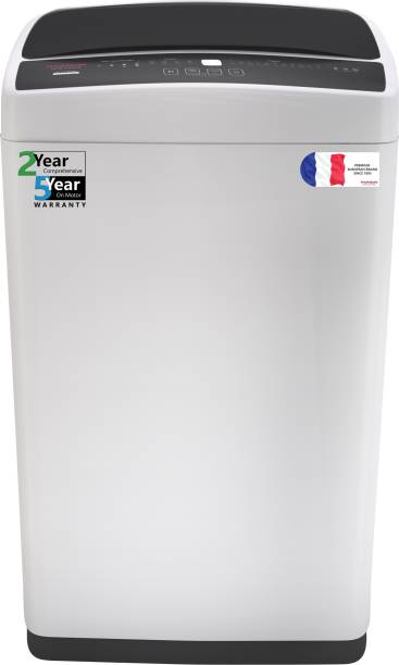 Thomson 6.5 kg 5 Star, Germ Purifier Technology Fully Automatic Top Load Black, Grey