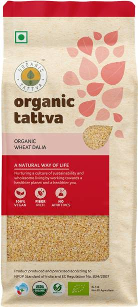 Organic Tattva Wheat Dalia Broken Wheat
