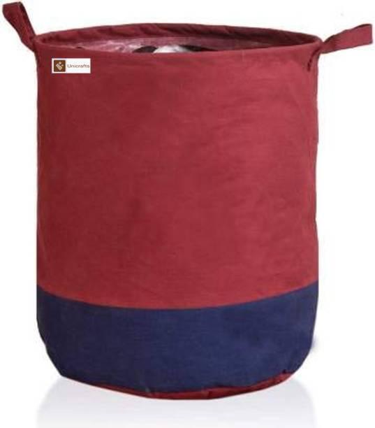 Unicrafts 45 L Maroon, Blue Laundry Bag