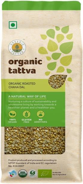 Organic Tattva Roasted Chana Dal (Split)