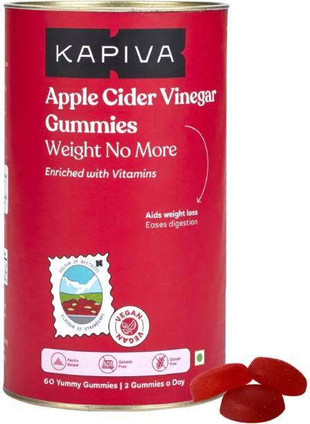 Kapiva Apple Cider Vinegar Gummies – 60 Gummies