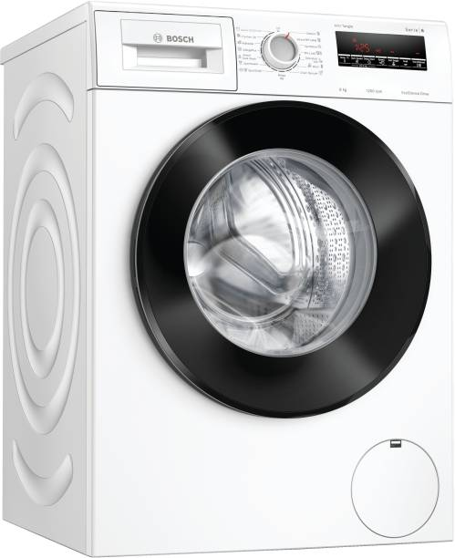 BOSCH 8 kg 5 Star INVERTER TOUCH CONTROL Fully Automatic Front Load with In-built Heater White