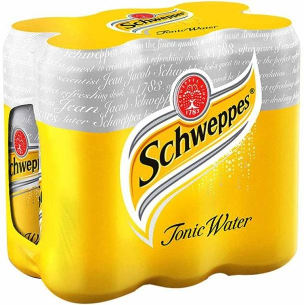 Schweppes Yellow -Tonic Water Pack of 6 Can