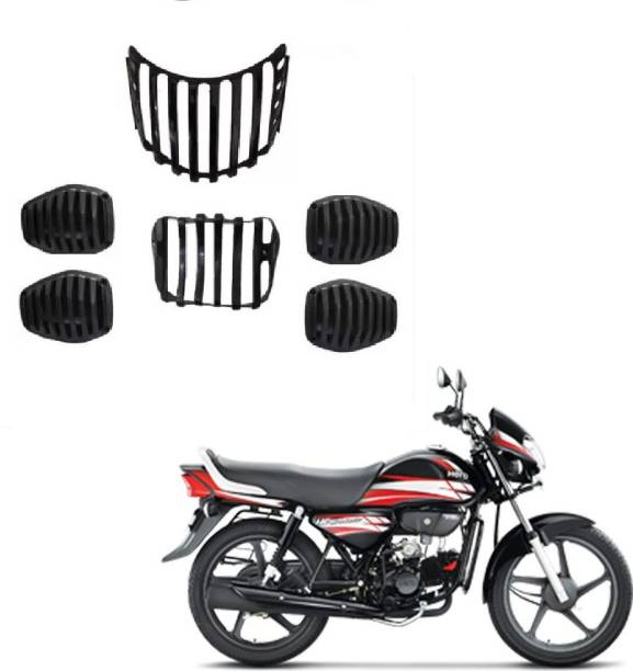Cotrex HF Deluxe Grill Set of -6 (FOR Hero HF Deluxe) 02 Bike Headlight Grill
