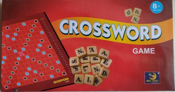 MECDOIT INTERNATIONAL SENIOR CROSSWORD GAME Educational Board Games Board Game