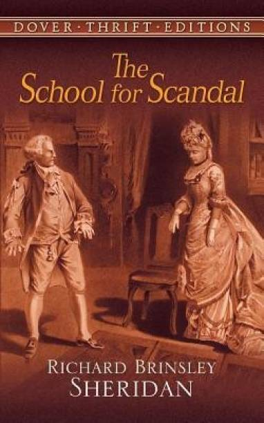 The School for Scandal Reprinted edition Edition