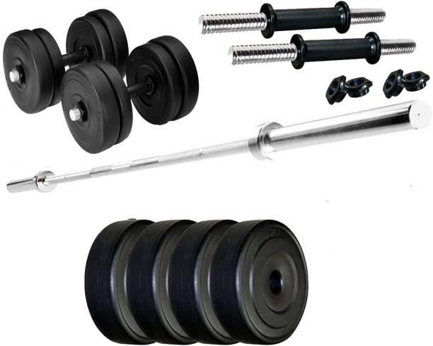 LYCAN 10 Kg weight 3 Gym bar Adjustable Dumbbell