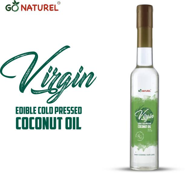 Go Naturel VIRGIN EDIBLE COLD PRESSED COCONUT OIL Coconut Oil PET Bottle
