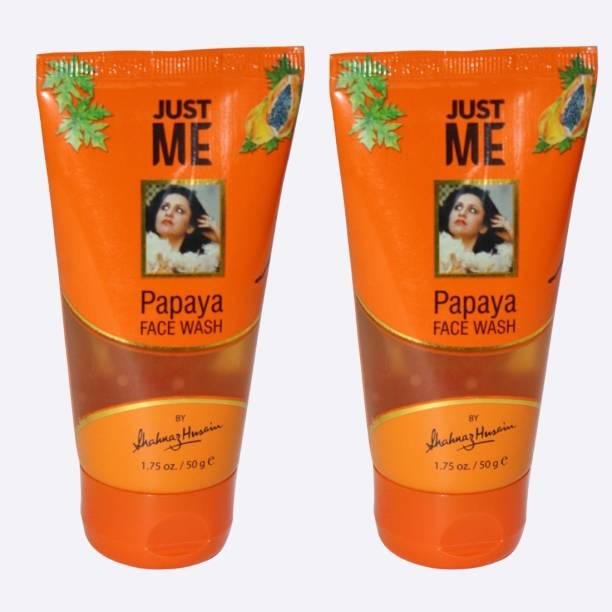 Shahnaz Husain papaya face wash 50x2 Pack of 2 Face Wash