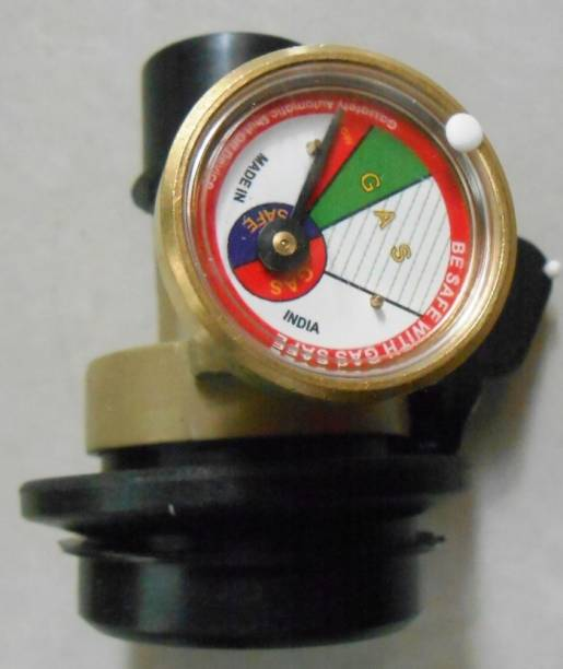 AARL Safety Device & 30% Gas Saving for All Gas Cylinder (Vertical) Gas Detector Gas Detector
