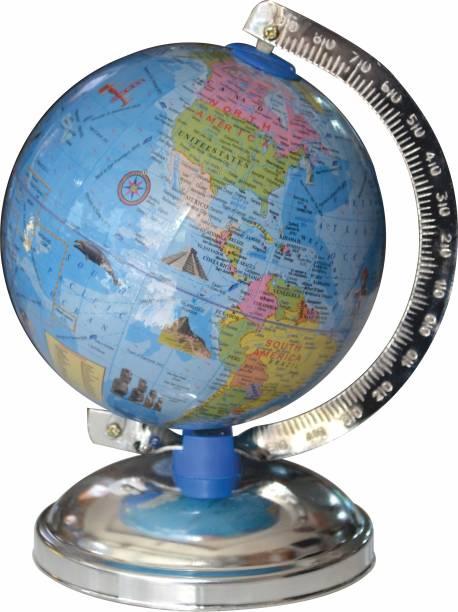 MITTAL GLOBE_505_E Educational Political Globe For Kids Globe for Students Table Top Political World Globe