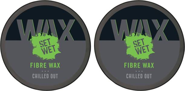 SET WET For Extra Volume, Strong Hold & Matte Finish, No Sulphate, No Alcohol, No Paraben Hair Wax