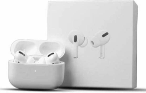 Raj Ear Pods Pro + Fast Charging case and Cable, For iOS/Android Bluetooth Headset