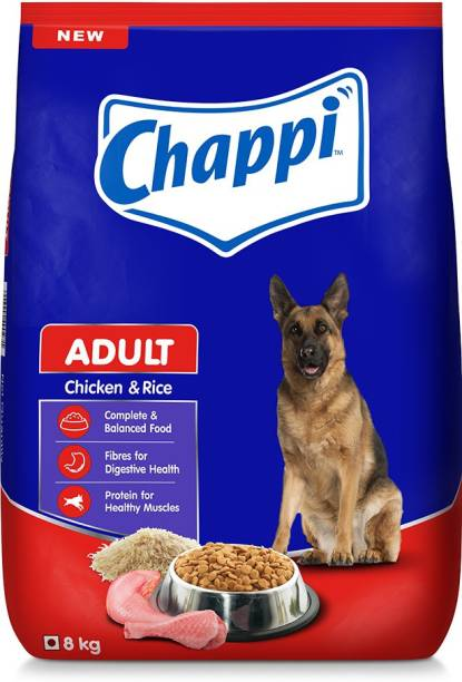 Chappi Rice and Chicken 8 kg Dry Adult Dog Food