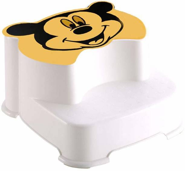 Techhark 2 Step Multi-Purpose Western Toilet Stool for Baby and Adults and Also Multi Purpose 2 Step Stool For Home Use Potty Box