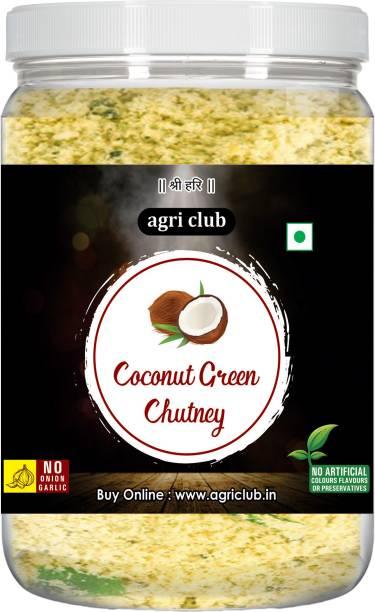 AGRI CLUB Ready Mix Coconut Green Chutney 200gm/7.05oz 200 g