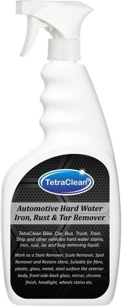 TetraClean Automotive Rust Remover/Hard Water Stain Remover/Tar Spot Remover/All Automotive Cleaner and Shiner in Spray Bottle 500 ml Rust Removal Solution with Trigger Spray