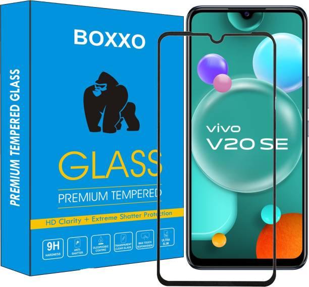 Boxxo Edge To Edge Tempered Glass for Vivo V20 SE