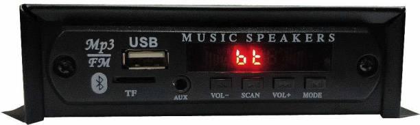 Ephemeral Magic Box Digital FM Compact USB for CAR/BIKE/TEMPO/TRACTOR/AUTO with Bluetooth/Aux/MMC Car Stereo Car Stereo
