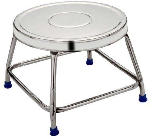 EGLOB Stainless Steel Sitting Stool 10x10x9 Kitchen Stool