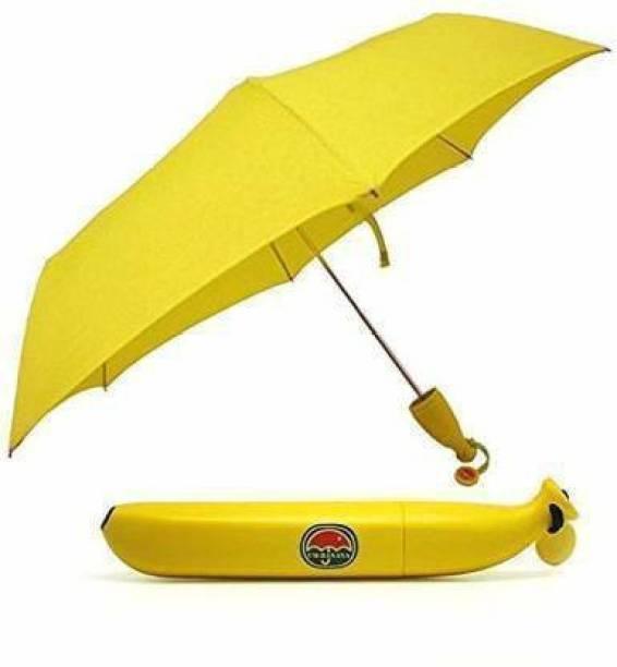 sutariya brothers BROTHERS BANANA_UMBRELLA Umbrella (Yellow) Umbrella Umbrella