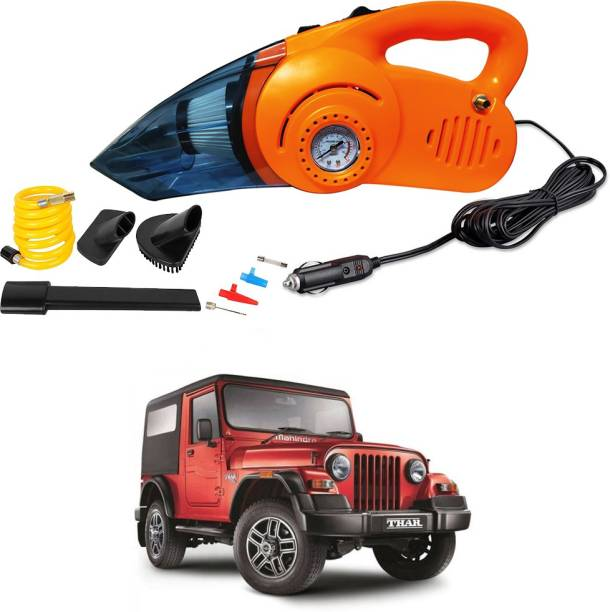 Oshotto 2 In 1 Vacuum Cleaner Cum Tyre Inflator For Mahindra Thar Car Vacuum Cleaner