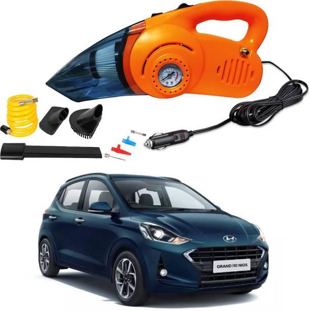 Oshotto 2 In 1 Vacuum Cleaner Cum Tyre Inflator For Hyundai i10 Grand Nios Car Vacuum Cleaner