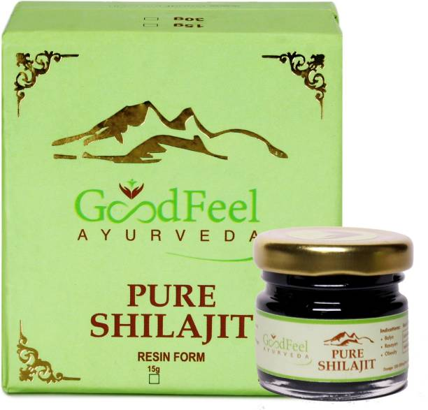 Goodfeel Ayurveda Natural & Pure Resin Raw Shilajit