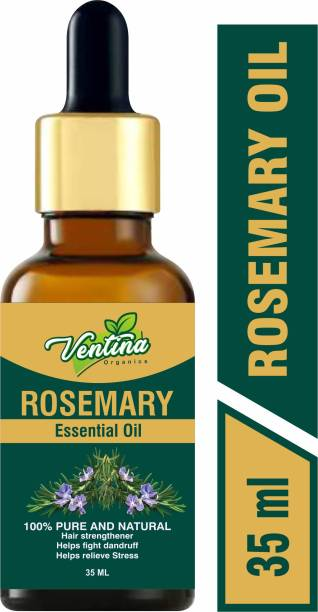 Ventina Organics 100% Pure & Natural Essential Oil For Hair Growth,Prevents Grey Hair and Removes Blackheads