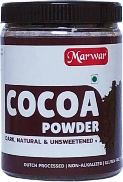 Marwar Cocoa Powder (Dark, Pure, Natural & Unsweetened (200 Grams) Cocoa Powder
