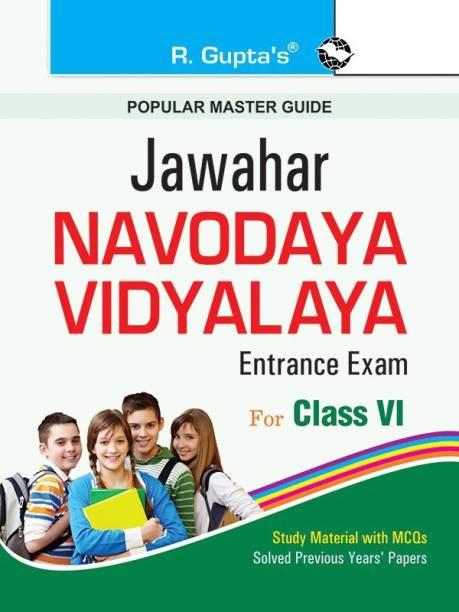 Jawahar Navodaya Vidayalaya Entrance Test Class Vi - (for 6th Class) 2021 Edition