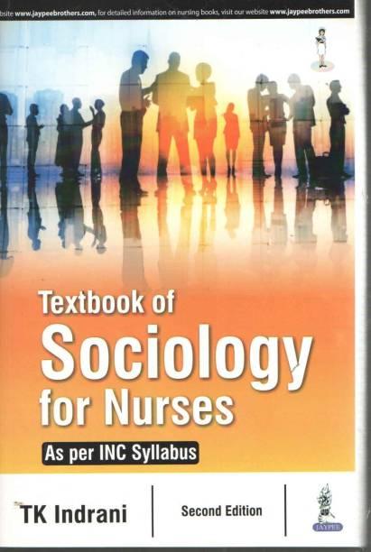 Textbook of Sociology for Nurses