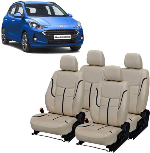 Luxury Premium Leatherette Car Seat Cover For Hyundai Grand i10 NIOS
