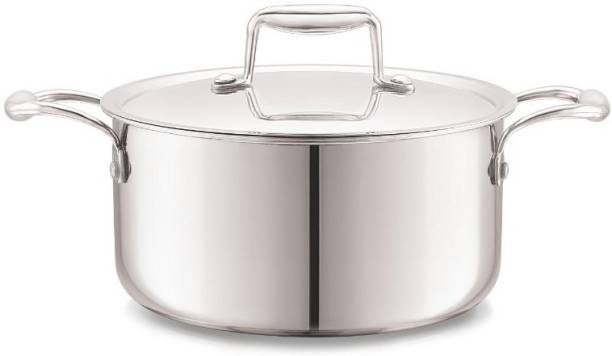 cello Tri-Ply Stainless Steel Cook & Serve Casserole with Lid Cook and Serve Casserole