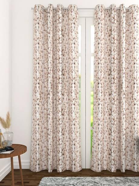 THE CONVERSION 244 cm (8 ft) Blends Long Door Curtain Single Curtain