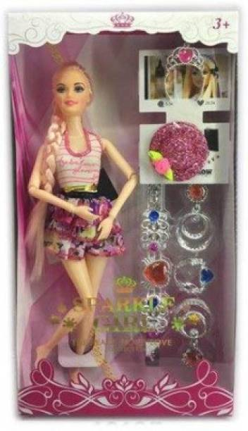 mohini collection Foldable doll Set with Acessories