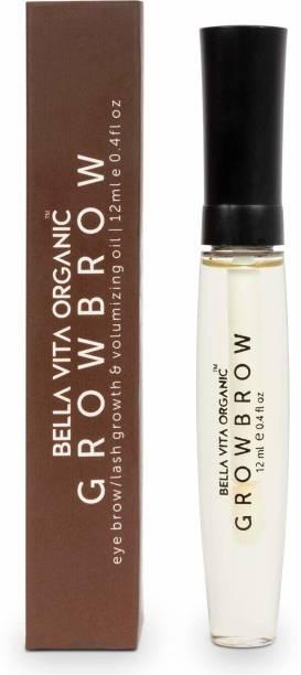 Bella vita organic GrowBrow - Eye Brows EyeLash Hair Growth & Volume Serum 12 ml